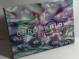 <b>SIGMA BEAUTY CHROMA GLOW</b> SHIMMER HIGHLIGHT PALETTE ...