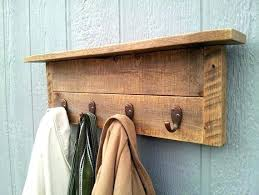Coat Rack Wooden Extraordinary Wooden Wall Coat Rack Hooks Coat Rack Hooks Best Wall Mounted Ideas