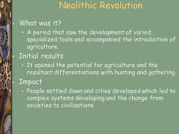 neolithic revolution essay the neolithic revolution essay