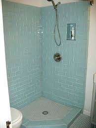 sea glass tile bathroom glass tile shower ideas pin by on sea glass and subway tile
