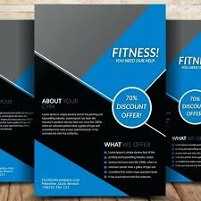 Flyer Formats Fitness Flyer Templates Gym Flyer Fitness Flyer Templates
