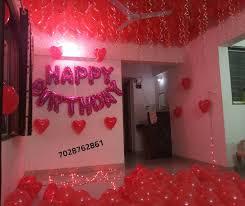 romantic room decoration for surprise