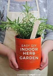 how to make an indoor herb garden. This Easy To Make Indoor Herb Garden Is The Perfect Project Do With Kids How An