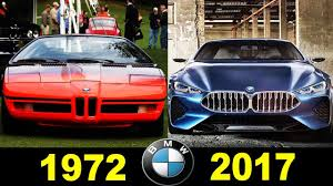 BMW - Concepts And Prototypes (1972 - 2017) - YouTube
