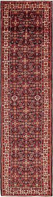main 3 7 x 14 hossainabad persian runner rug photo