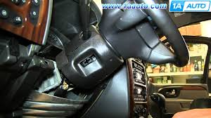 how to install replace ignition switch gmc envoy chevy how to install replace ignition switch 2002 09 gmc envoy chevy trailblazer