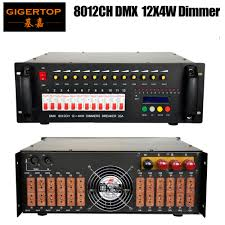Us 450 0 Freeshipping 8012ch Dmx 12ch X 4kw Digital Dimmers Lighting Control System 1602 Lcd Display 12 Loop Air Cooling Ac100v 220v In Stage