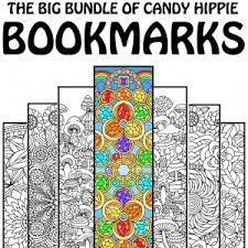Small Picture Printable Adult Coloring Books and Pages by Candy Hippie
