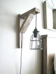 wall pendant a wood and metal wall sconce that combines and pendant lamp and a sconce in one matching pendant and wall lights uk