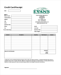 Credit Card Receipts Template 7 Credit Card Receipt Templates Pdf Free Premium Templates