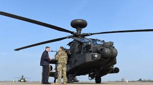 Uk Apache Helicopters Head To Estonia As Deterrent To Russia Threat