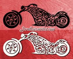 Free Scroll Saw Patterns Classy Scroll Saw Patterns Transportation Motorcycles