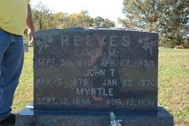 Myrtle Reeves (1898 - 1991) - Genealogy