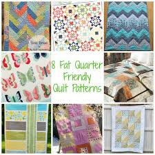 8 Fat Quarter Friendly Quilt Patterns – Quilting & fatquarter. Most of us love precuts. They make life so much easier when  quilting, enabling us to have to cut and measure a little less. Adamdwight.com