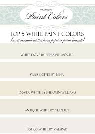 While ultra white is my favorite, bistro white is a close second. My 5 Top White Paint Colors Favorite Paint Colors Blog