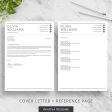 Reference Pages For Resumes Professional Resume Template