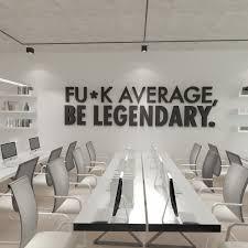 office wall decor. Be Legendary 3D Office Wall Decor (