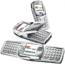 nokia qwerty phones. nokia 6822 mobile phone (unlocked) flip, qwerty, tri band, used, qwerty phones