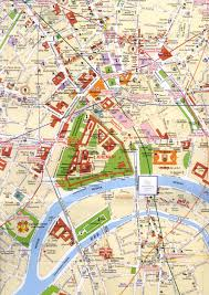 moscow center map  moscow russia • mappery