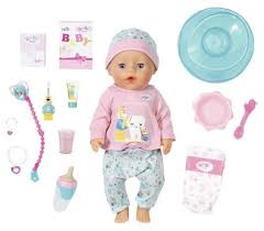 <b>Интерактивная кукла Zapf</b> Creation Baby Born Bath Soft Touch Girl ...