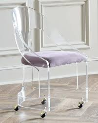 acrylic office chairs. Acrylic Office Chair Designer Home Desk Chairs At Pertaining To  Design . A