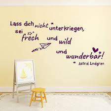 Wandtattoo Fürs Kinderzimmer Mädchen Zitate Von Astrid Lindgren