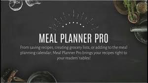 Wordpress Recipe Plugin By Meal Planner Pro
