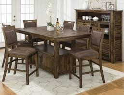 dining room furniture reign adjule height table and 4 counter height chairs