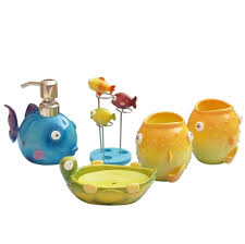 Bathroom Fish Decor Kids Bathroom Decor Home Design Kids Beach Bathroom Decor