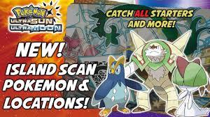 Pokemon Ultra Sun Island Scan Chart Call To Action
