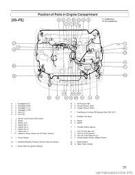 oil filter TOYOTA CAMRY 1994 XV10 / 4.G Wiring Diagrams Workshop Manual