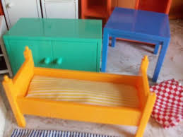Ikea doll furniture Homemade Worthpoint Ikea Dollhouse Furniture Lot Of 19 Doll House 159179568