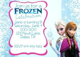 make your own frozen invitations frozen party invitations template orgullolgbt