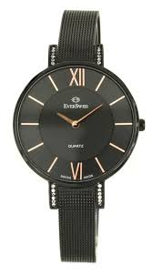 Наручные <b>часы EverSwiss</b> (ЭверСвисс) женские, <b>2787</b>-<b>LBKBK</b> ...