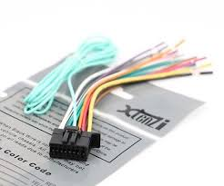 xtenzi 16 pin radio wire harness for pyle pldn72bt & pldn70u pyle pldnv78i wiring harness xtenzi 16 pin radio wire harness for pioneer fh x720bt, fh x520ui &