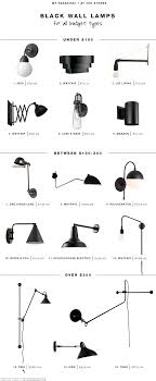 type of lighting fixtures. 15 favorite black wall light fixtures type of lighting t