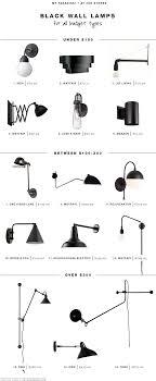type of lighting fixtures. 15 favorite black wall light fixtures type of lighting t