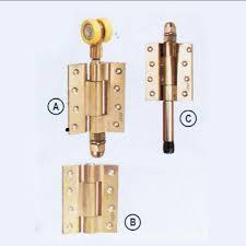 center fold sliding folding door systems for wooden doors