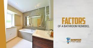 Factors Of Bathroom Renovations Awesome Bathroom Renovation Steps Remodelling