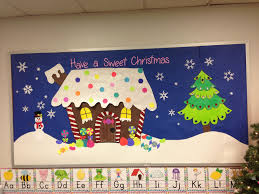 christmas bulletin board ideas. Christmas Bulletin Board Gingerbread House Intended Ideas