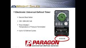 paragon defrost timers 8145 and 9145 overview youtube paragon timer 8145-20 wiring diagram paragon defrost timers 8145 and 9145 overview