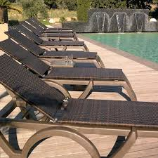 aluminum chaise lounge pool chairs deluxe aluminum beach yard pool folding chaise lounge chair recliner outdoor