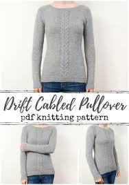 Sweet Sweaters | Pullover sweaters pattern, Cable sweater pattern, Knitting  patterns free sweater