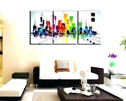 framed wall art set of 3 three piece creative ideas with umbra mapster ar