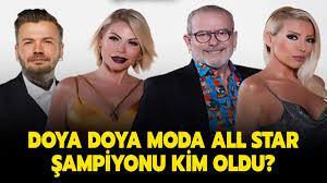Doya Doya Moda All Star birincisi kim, kaç puan aldı? Dün Doya Doya Moda  All Star şampiyonu kim oldu?