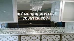 Diy Mirror Diy Mirror Mosaic Countertop Youtube