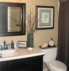 guest bathroom wall decor. Bathroom Decorating Ideas Above Toilet Guest Wall Decor With  Framed Painting Near Single