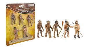 Evolution Of Man Chart Safari Ltd Safariology Evolution Of Man Historical Toy Figurines Including Australopithecus Afarensis Homo Habilis Homo Erectus Neanderthal And