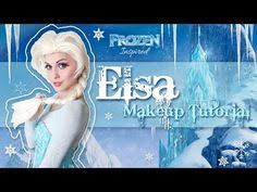disney 39 s frozen inspired queen elsa makeup tutorial transformation you