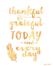 Thankful Grateful Quote Art Freebie Thanksgiving Grateful